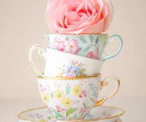 cup and flower image