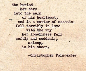 poem, words of love, and fell in love image