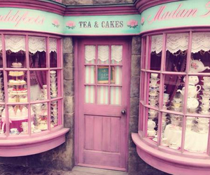 pink, cake, and shop image