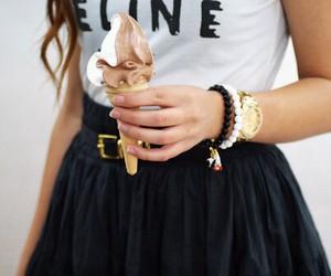 ice cream, fashion, and celine image