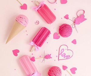 desserts, pastel, and ice cream image
