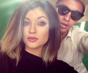 kylie jenner, hair, and makeup image