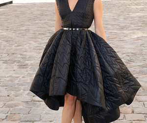 black, dior, and dress image