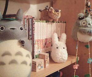 totoro, kawaii, and manga image