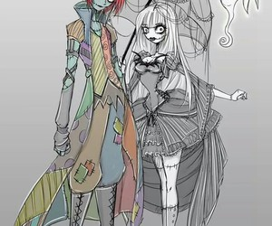 drawing, jack, and sally image