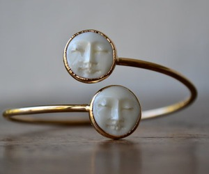 ring, moon, and face image