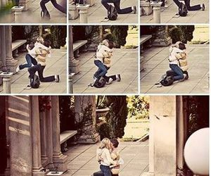 love, proposal, and couple image