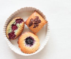 almond, cake, and financier image