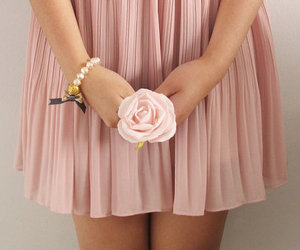 fashion, flower, and rose image