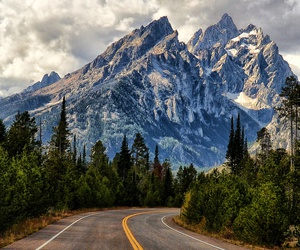 mountains, national park, and travel image