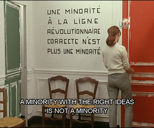 quote, minority, and french image