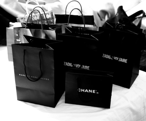alice, chanel, and shopping image