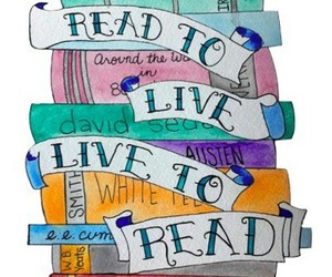 book, read, and art image