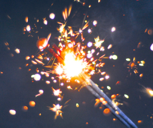 light, fire, and fireworks image