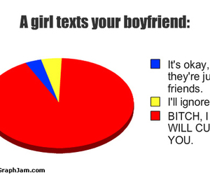 boyfriend, text, and funny image