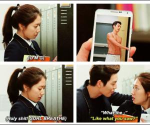 park shin hye and kim woo bin image