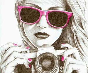 awesome, draw, and camera image