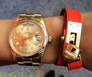 fashion, watch, and rolex image