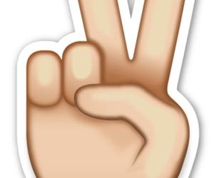emoji, peace, and overlay image