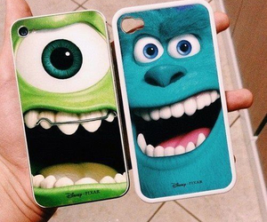 case, iphone, and monster image