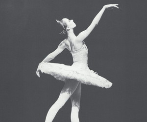 ballerina, girl, and ballet image