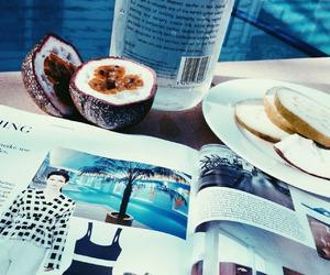 magazine, summer, and food image
