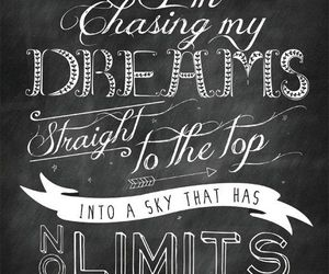 Dream, quote, and limit image