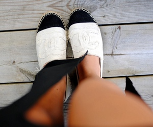 chanel, cute, and shoes image