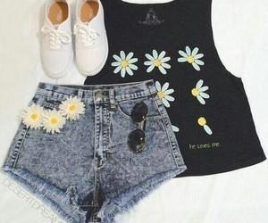 cute shoes, shorts, and beautiful dress image