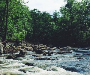 nature, indie, and river image