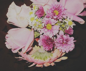 flowers, beautiful, and vintage image