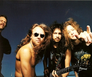 James Hetfield, Jason Newsted, and metallica image