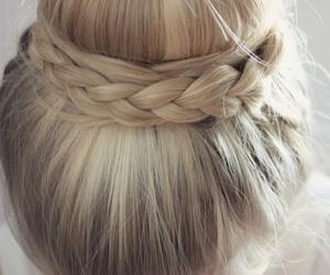 blond, braids, and girls image