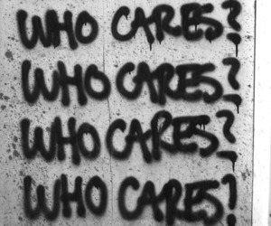 who cares, care, and Who image
