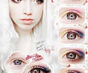 eyes, kawaii, and tutorial image
