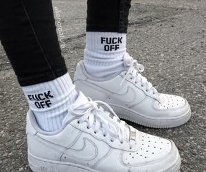 air force 1, black, and grunge image