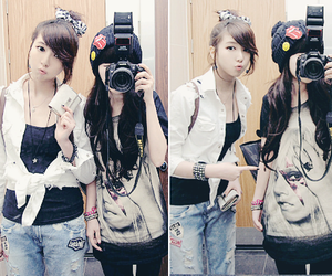 camera, ulzzang, and girl image