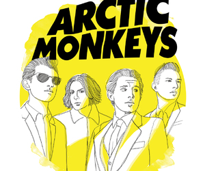 arctic monkeys, band, and indie image