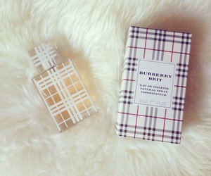 brit, Burberry, and fragrance image