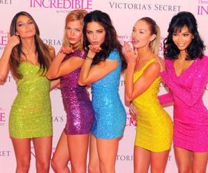 Victoria's Secret, model, and dress image