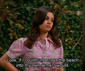 funny, that 70s show, and Mila Kunis image
