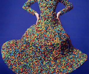 fashion, candy, and dress image