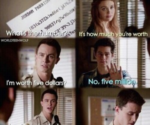 funny, teen wolf, and lydia image