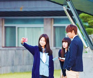 lee min ho, park shin hye, and the heirs image