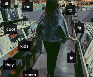 grunge, music, and cool image
