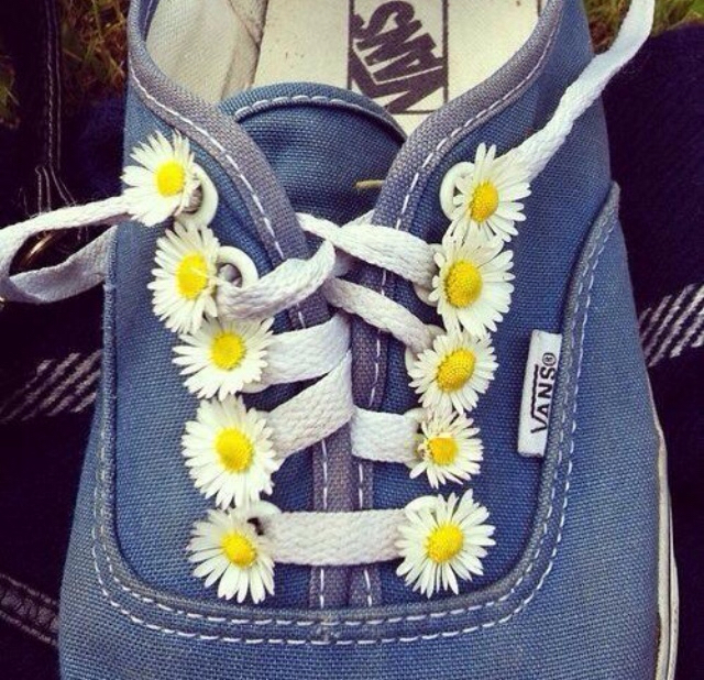 flowers, shoes, and yellow image