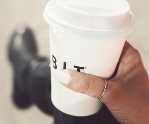 beautiful, coffee, and dark image