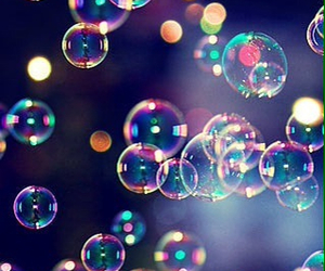 bubbles and wallpaper image