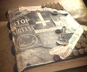 nirvana, book, and diary image
