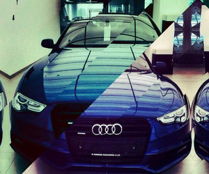 audi r8, blue, and lines image